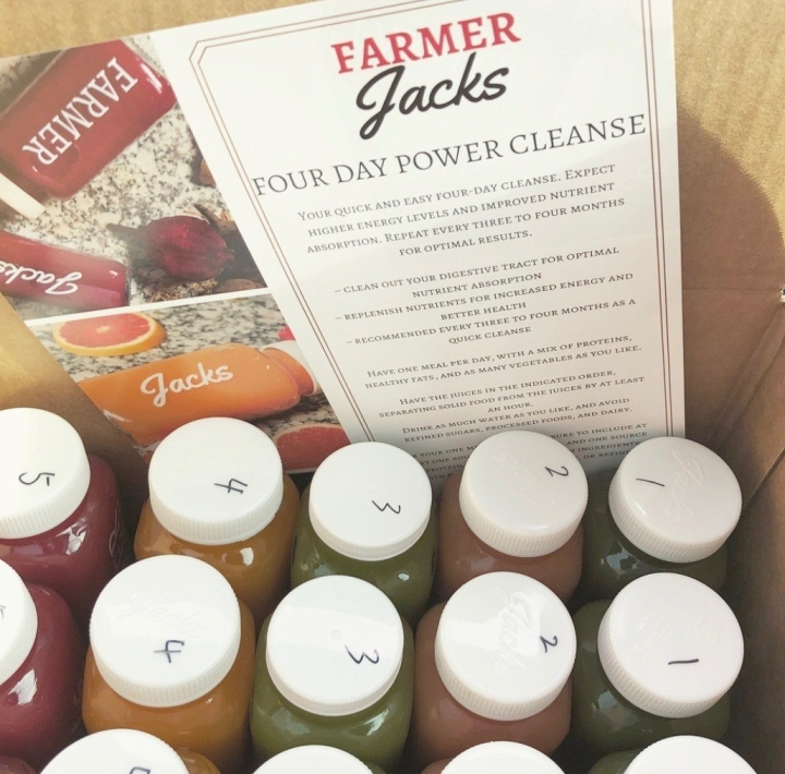 My 4-Day Juice Cleanse Experience